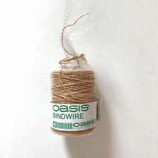 Oasis Floral products bindwire 花藝園藝 紙包鐵絲繩