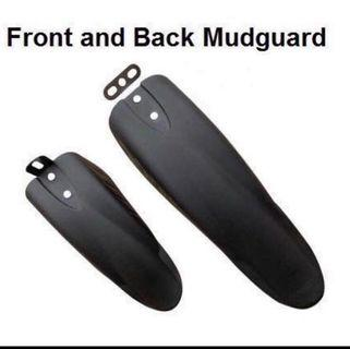 Fiido/dyu/tempo cool slope up front and back mudguard 1 set