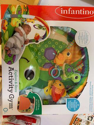 Infantino Baby activity gym bb嬰兒玩具