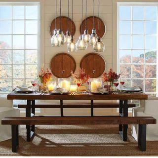 April hot sale TSDT 00B-Solid Pine Wood Dining Table/ Bench