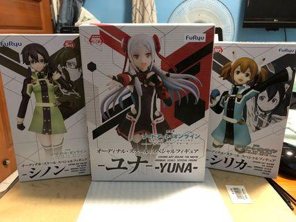 Sword Art Online ordinal scale special figure