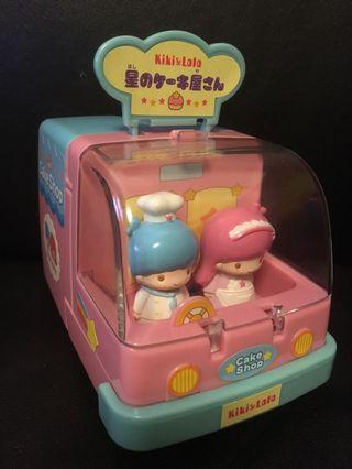 SANRIO Little Twin Stars - Kiki & Lala Cake Shop Car
