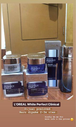 Loreal White Perfect Clinical - 3 item