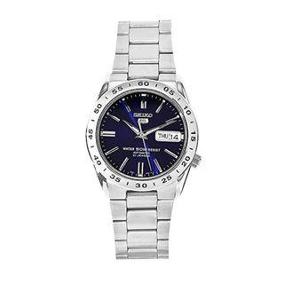 SEIKO / SNKD99K1 / SEIKO 5 / AUTOMATIC / MENS / 37 MM / 5ATM  / BLUE DIAL / STAINLESS STEEL STRAP