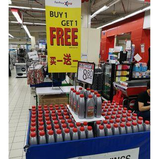 Carlube 5w40 Fully Synth 1L on Promo @ FairPrice Xtra Outlets!