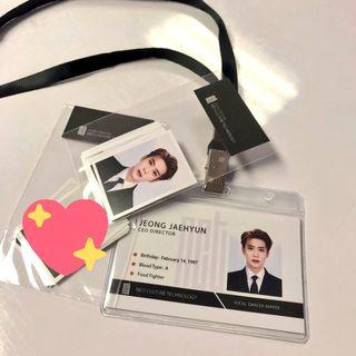 NCT Jaehyun Employee Card + ID Photos