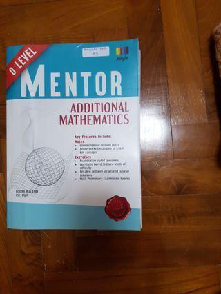 🚚 O level Mentor Additional Mathematics