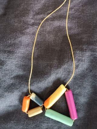 🚚 Colourful Polymer Necklace