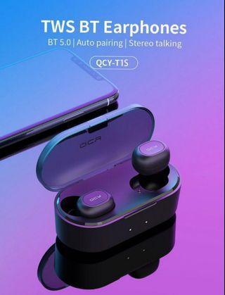 🚚 QCY T2C TWS BT earphones