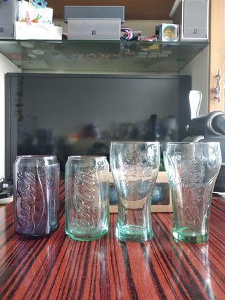 麥當勞纪念杯 4 隻 (另送兩隻日本小瓷杯)
