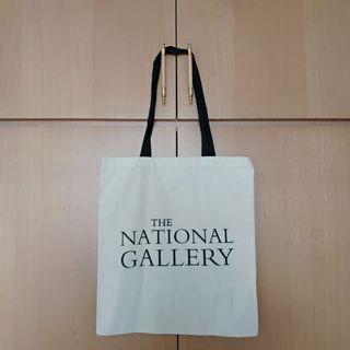 🚚 [全新] 英國國家美術館文字 帆布袋