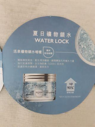 Loccitane ultra thirest quenching gel 活泉夏日礦物鎖水啫喱最鍾意