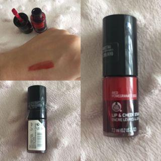 Body Shop Lip & Cheek Stain - Red Pomegranate