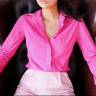 Versace Pink Shirt