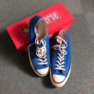 🚚 Converse chuck Taylor 70s 1970 寶藍色高筒帆布鞋 plain-me goopi