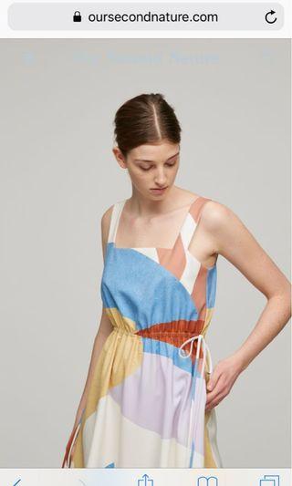 OSN square neck dress