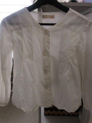 Zara's Top in Off White