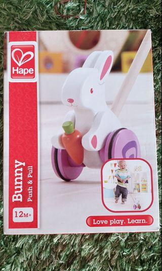 🚚 Bunny Push & pull toy 12m+ #endgameyourexcess