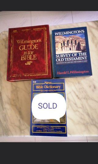 Wilmington Guide to the bible/Survey of the old testament/new Bible dictionary