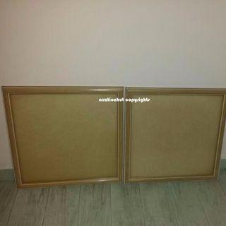 Set of 2 Wall Photo/Poster/Wood Frame Home Decoration