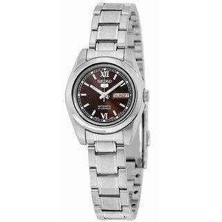 SEIKO / SYMK25K1 / QUARTZ / LADIES / 26MM / 3ATM  / BROWN DIAL / STAINLESS STEEL CASE BRACELET