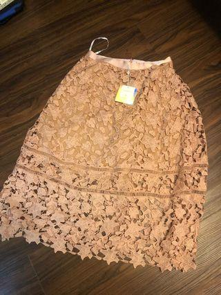 🚚 Pretty Lace skirt
