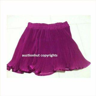 Brand New Fuchsia ink Skirt From Forever 21 Size S/P