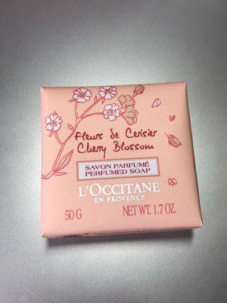 L'occitane Cherry Blossom Soap 櫻花香氛皂