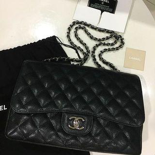 Chanel Black Caviar Jumbo