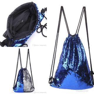 🚚 Mermaid Reversible Sequins Drawstring