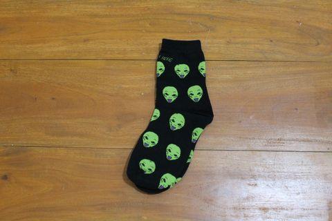 Alien Tumblr Socks