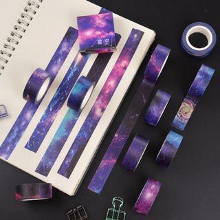 Galaxy Theme Washi Series #2 / Space Theme Washi