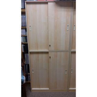 有鎖書櫃(共有3個, 可分開或同時購買)