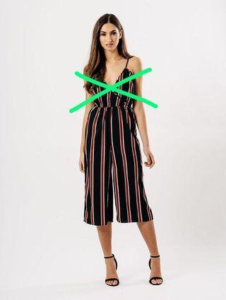 🚚 stripes culottes