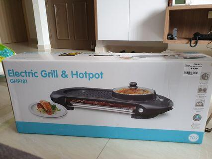 707 Electric Grill & Hotpot