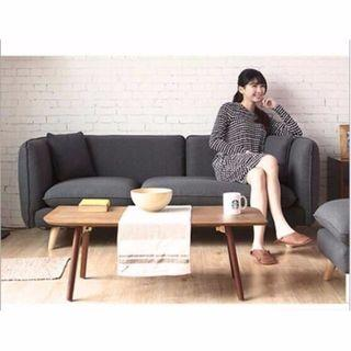 April hot sale  Sofa 002-Nordic / Scandinavian Fabric Wood
