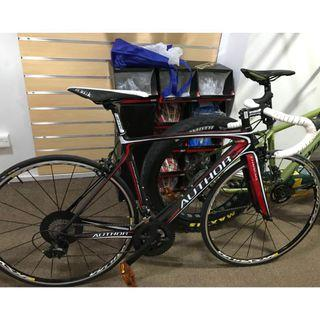 Author Full Carbon Road Bike with shimano 105 groupset/ Mavic Rims