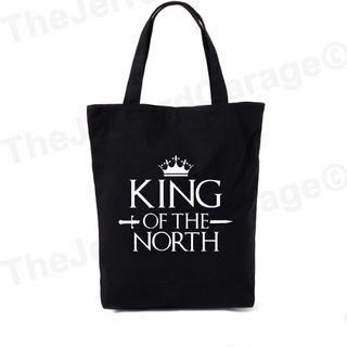 King Of The North Tote Bag (Fan Art)