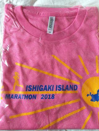 全新 日本石垣島馬拉松運動衫 Ishigaki Island