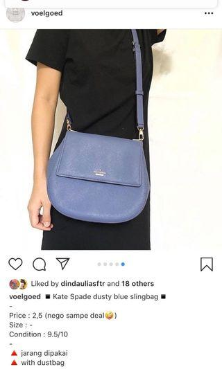 kate spade dusty blue