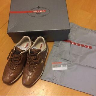 100%Real Prada 運動鞋
