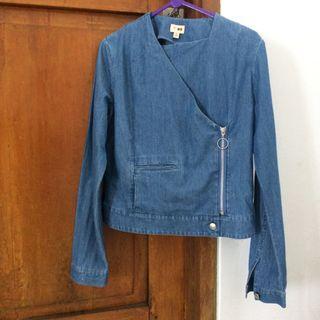 Uniqlo Hana Tajima Jaket Jeans Limited Edition