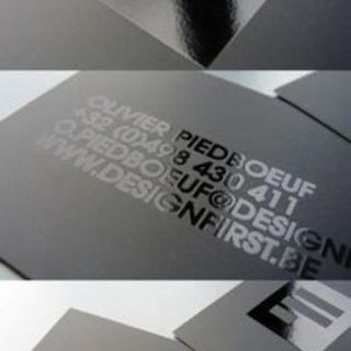 Spot UV Namecard