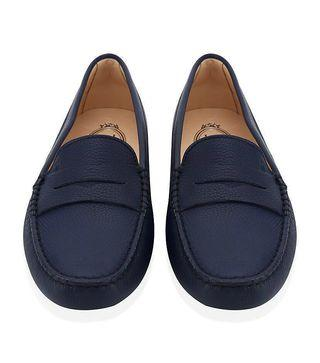 e4fa7ee631f TOD S Gommino Driving Loafers in Navy  Dark Blue