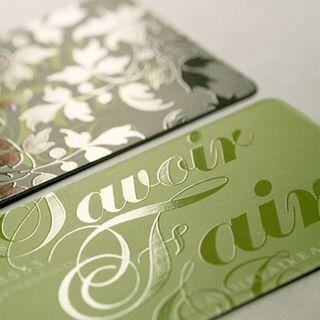 Business Card Print with UV Finish