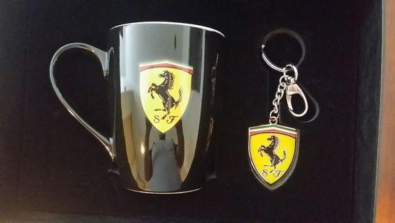 Ferrari Mug & Key Chain 1 set original