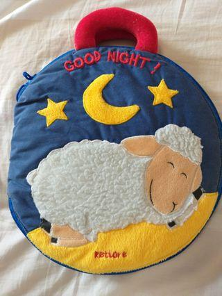 Rettore Good night baby cloth story book with CD