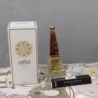 SOPHIE MARTIN PARIS Parfume Eiffel Bottle + Free lipstick