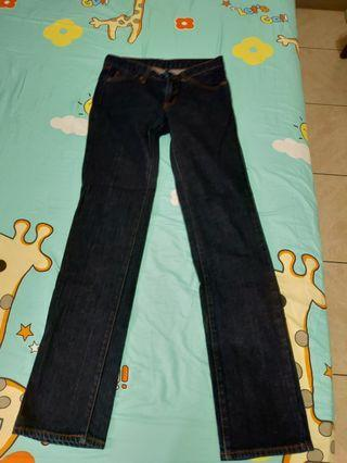 Uniqlo 牛仔褲-直筒