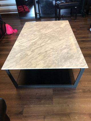WTS Italian Marble Top Coffee Table